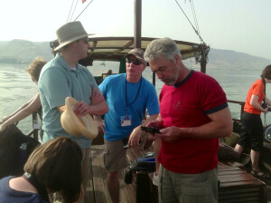 Blog - Israel Day 5 - Boat on Sea of Galilee