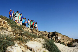 Blog - Israel Day 8 - Group on mountain