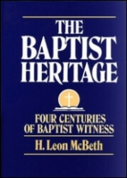 Baptist History - McBeth